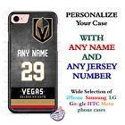 Vegas Golden Knights Hockey Jersey Phone Case Cover Customized for iPhone etc.