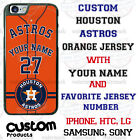 Houston Astros Personalize Baseball Jersey Phone Case Cover for iPhone LG etc. on Ebay