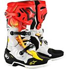 New 2019 Alpinestars Tech 10 Indianapolis LE Grey Red Motocross Boots Enduro