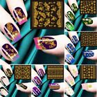 10/20/30 Sheets Mixed Designs Watermark Decals Water Transfer Nail Art Sticker