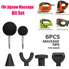 6pcs for Percussion Massage Gun EVA Ball Relaxing Therapy Tool Warm Up Tips Tool
