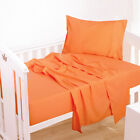 Ultra Soft 3-Piece Microfiber Toddler Sheet Set Flat Sheet Envelope Pillowcase