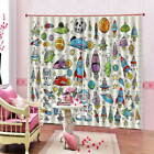 Exploring Outer Space 3D Curtain Blockout Photo Printing Curtains Drape Fabric