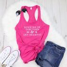 RUNNING ON DIET COKE AND DRY SHAMPOO FITTED LADIES RACERBACK TANK $14.99  on eBay