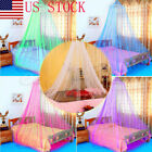 US Stock Mosquito Net Bed Queen Size Home Bedding Lace Canopy Elegant Netting image