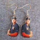 Houston Astros George Springer Earrings on Ebay