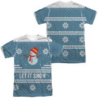 UGLY CHRISTMAS SWEATER COSTUME Adult Men's Halloween Graphic Tee Shirt SM-3XL
