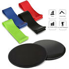 Strength Sliders & Resistance Bands Fitness Equipment Workout for Pilates, Yoga