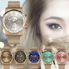 2019 Luxury Womens Watch Ladies Military Stainless Steel Band Dial Wrist Watches image