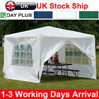 Waterproof 3x3m 4m 6m Gazebo Outdoor Patio Garden Marquee Canopy Party Tent