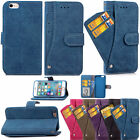 Shockproof Heavy Duty Wallet Flip Leather Stand Case Cover For iPhone 6 6s Plus