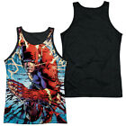 THE FLASH RIPPING AND TEARING Men's Black Back Tank Top Sleeveless Tee SM-3XL