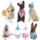 New Cute Birthday Hat Scarf For Pet Dog Cat Puppy Party Costumes Pets Supplies