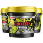 Colossal labs Whey Protein powder 12lb Monster Muscle isolate/blend protein