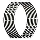"""Wholesale 17""""18""""16 Strips Motorcycle Car Wheel Tire Stickers Reflective Rim Tape"""