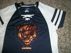 CHICAGO BEARS New NWT Womens Jersey Majestic Fan Fashion Sequin Design Shirt $24.9 USD on eBay