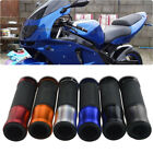 "For Kawasaki Ninja 500R 250R 1000 ZX6R/10R 7/8"" Rubber Gel Hand Grips 6 Color PN $9.8 USD on eBay"