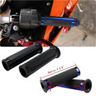 "Motorcycle 7/8"" 1"" 22mm 25mm Rubber Gel Hand Grips 7 Color For GSXR1000/750/600 $9.7 USD on eBay"