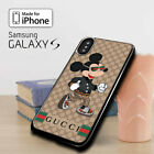 HOT Mickey Mouse iPhone X XS MAX XR 8 7 !19Gucci8Coach3MK Samsung S8 S9 S10 Case