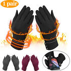 Touch Screen Winter Warm Thick Soft Insulation Fleece Gloves for Women Ladies