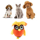 Pet Toys Squeak Plush Owl/Pony Durable Chew Toy Teeth Cleaning Toy for Dog