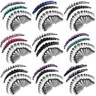 BodyJ4You 72PC Gauges Kit Plugs Tunnels Tapers 14G-00G Stretching Piercing Set image
