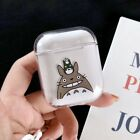 For Airpods Charging Case Disney Cute Cartoon Mike Totoro Toy Crystal Hard Cover