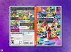 Mario Kart 8 Deluxe - Quality Replacement Cover Inserts / Case - Nintendo Switch