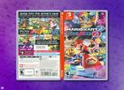 Mario Kart 8 Deluxe Replacement Case: Double-Sided Inserts for Nintendo Switch