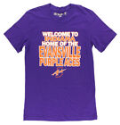The Victory Mens Evansville Purple Aces College Indiana T Shirt Purple