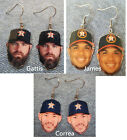 Houston Astros Evan Gattis Josh Joshua James Carlos Correa Earrings on Ebay