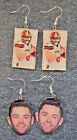 BAKER MAYFIELD Cleveland Browns Quarterback Dangled EARRINGS $9.0 USD on eBay