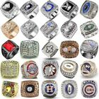 Men's NFL Championship Ring Stainless Steel Silver Gothic Punk Biker Rings US $9.48 USD on eBay