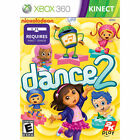 Nickelodeon Dance 2 (Microsoft Xbox 360, 2012) ~ BRAND NEW & SEALED