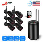 ANRAN Home Security Camera System Wireless 1080P 8CH 1TB HDD Outdoor Waterproof