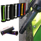 "For Ninja ZX-10R 6R CBR600RR/1000RR 7/8"" 1"" Handle Bar Rubber Hand Grips 7 Color $9.6 USD on eBay"