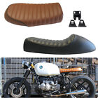 Vintage Cafe Racer Flat Brat&Hump Saddle Seat For KZ Honda CB BMW R100 Suzuki GS $44.5 USD on eBay