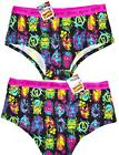 MARVEL KNICKERS AVENGERS Panties FRONT AND BACK PRINT WOMENS LADIES Size 6 - 20