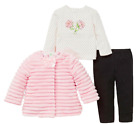 SALE NEW Little Me Girls 3 Pieces Jacket Top Pant Outfit Set VARIETY E54