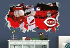 Cincinnati Reds Baseball MLB Custom Smashed 3D Wall Decal Sticker Vinyl OR718 on Ebay