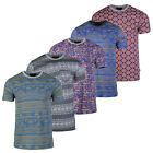Men's Basic Cotton Casual Homey Pocket Short Sleeve T-Shirt S M L XL image