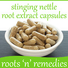 Stinging Nettle Root Extract Capsules - 400mg - High Strength & Pure.