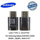 2x Genuine Samsung Micro Usb To Type-c Connector Adapter For S8 S9 S10+ Note 9 8