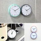 Kitchen Bathroom Bath Shower Waterproof Clock Suction Cup Sucker Wall Decoration