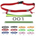 Accessories Cloth Bib Holder Race Number Belt Running Waist Pack Sports Tool image