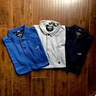 Hollister men's short sleeve Stretch Shrunken Collar Slim Fit Polo logo image