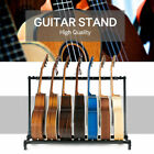 Guitar Stand 3 7 9 Holder Folding Organizer Rack Stage Bass Acoustic Guitar
