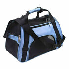 Nylon & Mesh Pet Carrier Soft Sided Dog Cat Comfort Travel Tote Bag Travel