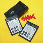 New 3390mAh EB-L1K6ILA Battery & Charger for Samsung Galaxy S Relay 4G T699 I415