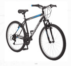 "Roadmaster Granite Peak Men's Mountain Bike, 26"" wheels, Black/Blue"